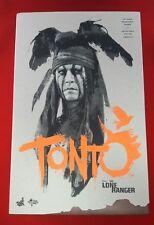 1/6 Hot Toys The Lone Ranger Tonto MMS217 Empty Box *US Seller*