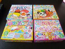 F/S Kracie 4 Kinds of Poppin Cookin Sushi Obento Cake NerikyanLand