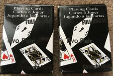 2 x packs of mini playing cards - new