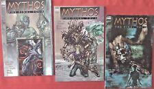 MYTHOS : THE FINAL TOUR   COMPLETE SET 1-3  DELUXE  DC VERTIGO 1996  NICE!!!!