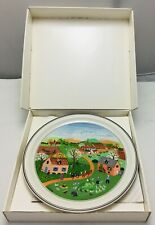 Villeroy & and Boch Laplau Naif THE FOUR SEASONS - Spring No1 BN061 plate BOXED