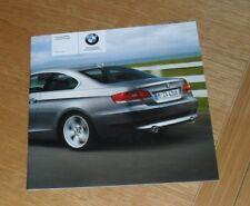BMW 3 Series E92 Coupe Price List 2006 - 325i 330i 335i 330d 335d SE