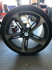 """audi rs7 21"""" wheel oem 5x112 21x9 +35 One Set(4 wheels and tires)"""