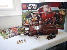 Lego Star Wars 7662 Trade Federation Mtt con caja 100% completo con instrucciones