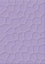 Embossing Folder Cart-Us Universal Cuttlebug Sizzix Big-Shot Machine Brick Wall