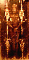SHROUD OF TURIN ACTUAL SIZE!!!!  89x42 printed on Quality ART Canvas