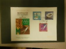 Monaco 1968 Olympic Games in Mexico First Day Cover