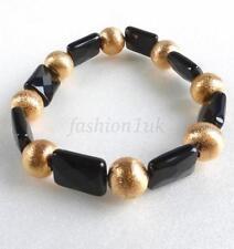 Cubic Zirconia Stone Beaded Costume Bracelets