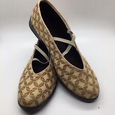 Anthropologie Apropos Tapestry Ballet Flat Shoes Size 7.5 M