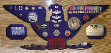 COLONEL  MILITARY BADGE PIN PATCH FLAG  CHALLENGE COIN DISPLAY CASE SHADOW BOX