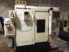 FUJI HM-30T1 SINGLE SPINDLE CNC LATHE W/GANTRY & MILLING