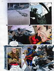 BATMAN MASTER OF THE FUTURE Pg #50 HAND COLORED PRINT GUIDE Barreto, Steve Oliff