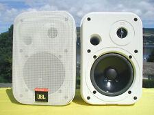 Nouvelle JBL Control 1 enceintes professionnelles blanc moniteurs de Studio de 150 Watt