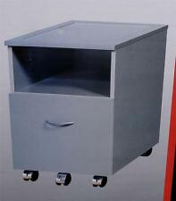 Skyline Mobile File Cart, With Shelf Storage Above - BRAND NEW IN BOX - GREY