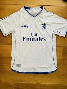 Chelsea 2001 Retro Away Shirt Large