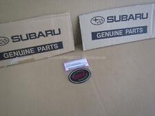 SUBARU IMPREZA WRX TYPE R GC8 STI FRONT WING BADGE ST9100055010 genuine scooby !