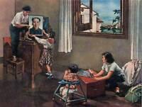 PROPAGANDA COMMUNISM CHINA MAO NEW HOUSE POSTER ART PRINT 30X40 CM BB2373B
