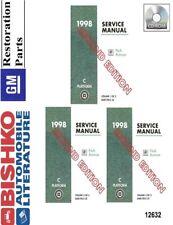 1998 buick park avenue shop service repair manual cd