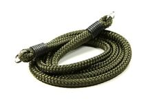 "Lance Camera Straps USA Non-adjust Neck Strap Cord Rope Strap - Olive Green, 42"""