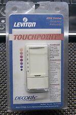 LEVITON TOUCHPOINT 600W DIMMER SINGLE-POLE (ALMOND) - 603-TPI06-1LA