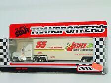 MATCHBOX 1992 SUPER STAR TRANSPORTERS  #55 JASPER RACING TEAM