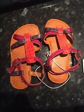 Girls Sandals Mothercare Size UK 9 EU 26.5