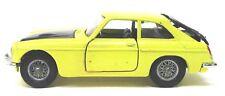 Corgi #345 MGC GT yellow and black diecast y