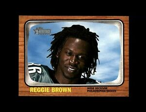 2005 Topps Heritage Football #76 Reggie Brown (Eagles) MINT
