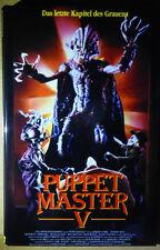 Puppet Master 5 / V (DVD) Gr. Hartbox / Buchbox - Lim 50er AVV