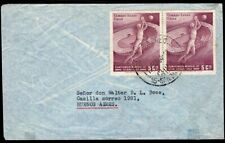 559 CHILE TO ARGENTINA COVER 1964 SOCCER SANTIAGO - BUENOS AIRES