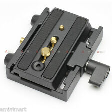 Quick Release Plate Adapter fr Manfrotto 501PL 577 Camera Dolly Slider Jib Crane