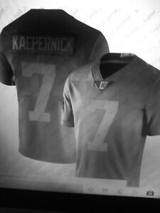 Kaepernick Icon 2.0 black jersey W/ tags 3xl USA