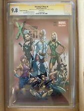 UNCANNY X-MEN #8 CGC Signature Series 9.8 WHITE Pages Campbell Variant Cover
