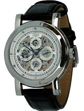 Trias skelettuhr accapella Automatikuhr reloj hombre lederuhrband visualización de calendario