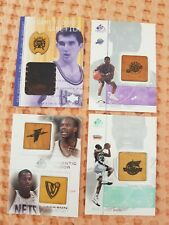 Lot of 4 Game Floor SP cards David Robinson Stojakovic Stephen Jackson Stevenson