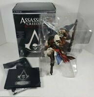 (No Game)Assassin's Creed Black Flag Limited Edition Captain Kenway Statue, Flag