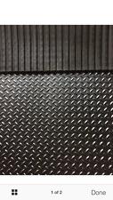 Heavy Duty Rubber Stable Matting 6ftx4ft 17mm Horse Mat checker design freepost