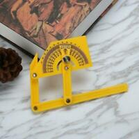 Goniometer Angle Finder Miter Gauge Arm Measure Ruler Plastic Protractor Ne I6S9