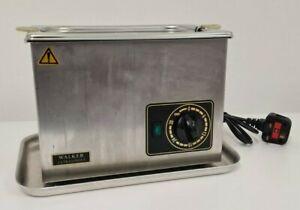 Walker Electronics Ultrasonic Steriliser Bath Cleaner 2.5L Model QC Used