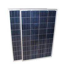 Solarset 12V/24V 200 Watt poly + Solarladeregler 15 A + 2 Dioden Solarmodul TÜV