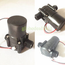 Portable DC Hydroelectric power Micro-hydro Piped water generator charger drq