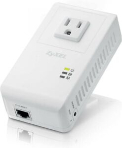 ZyXel PLA4215KIT Powerline AV 500 Mbps Wall-Plug Adapter w/AC Pass through