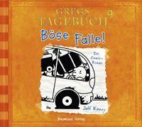 JEFF KINNEY - GREGS TAGEBUCH 9 - BÖSE FALLE!  CD NEW