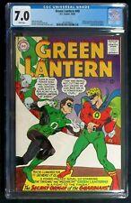Green Lantern #40 CGC 7.0 Green Lantern vs Gold age Green Lantern Oct. 1965