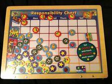 Melissa & Doug Magnetic Responsibility Chart., New, Free Shipping