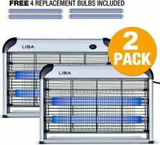 LiBa Bug Zapper Electric Indoor Insect Killer (Pack of 2)