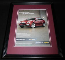 2015 Chevrolet Chevy Cruze 11x14 Framed ORIGINAL Vintage Advertisement