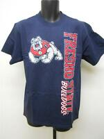 New Fresno State Bulldogs Adult sizes M-L-XL Navy Blue Shirt by Soffe