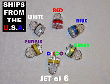 SET OF 6 LED Diamond Fishing Lights, Swordfish, Grouper Deep Drop, USA ship FREE