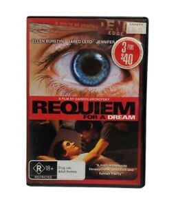 Requiem For A Dream AUS PAL DVD R4 DVD Free Tracked Post